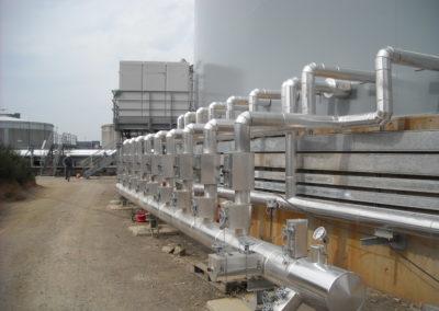 Calorifuge avec valve
